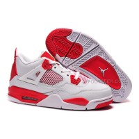 "Cheap Carmelo Anthony Air Jordan 4 Retro ""Melo"" PE White Red Online"