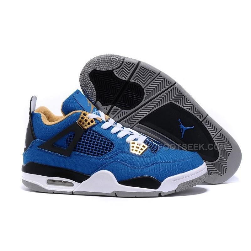 b5f82215547426 Eminem x Carhartt x Air Jordan 4 Canvas Game Blue Black-White-Grey ...