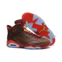"Cheap Price Air Jordan 6 Retro ""Championship Cigar"" Basketball Shoes"