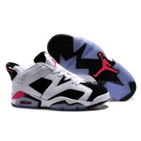 "Air Jordan 6 Retro Low ""Sport Fuchsia"" White/Black-Fuchsia Flash For Sale"