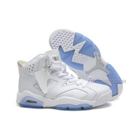 Air Jordan 6 Retro All White For Sale Online Low Price