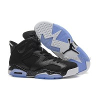 "Air Jordan 6 (VI) Retro ""Black Oreo"" Black/White-Metallic Silver"