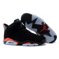 Air Jordan 6 (VI) Retro Black/Infrared 23-Black Cheap Online