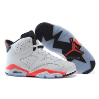 Air Jordan 6 (VI) Retro White/Infrared-Black For Sale Online