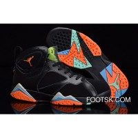 "2015 ""Marvin The Martian"" Air Jordan 7 Retro Black Infrared Top Deals FyTB3"