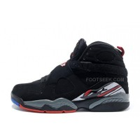 "Air Jordan 8 Retro ""Playoffs"" Black/True Red-White For Sale Online"