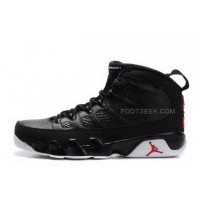 Air Jordan 9 Retro Black-White/Varsity Red Online For Sale