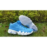Air Jordan Retro 9 Pantone Low Mens Lifestyle Shoe (University Blue/Black/White) 832822-401 Discount