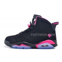 Air JD 6 Retro GS Black Pink For Sale In Women Size