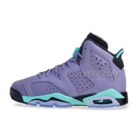 Cheap Girls Air JD 6 Retro Cool Grey/Turbo Green-Black For Sale