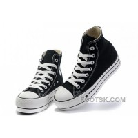 Black Platform CONVERSE All Star Canvas Women Shoes Classic For Sale