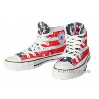 All Star CONVERSE American Flag By John Varvatos Canvas Sneaker Free Shipping