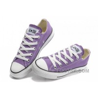 Discount Purple CONVERSE Chuck Taylor All Star Canvas Shoes