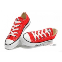 For Sale Red CONVERSE All Star Chuck Taylor Canvas Shoes