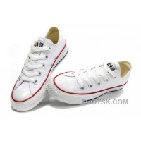Discount CONVERSE Chuck Taylor All Star Top Optical White Canvas Shoes