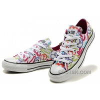 For Sale CONVERSE All Star Peace And Love White Canvas Shoes Women