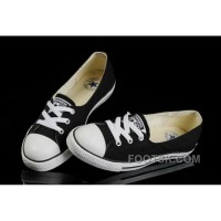 Black CONVERSE Ballet Flats Dainty Ballerina Chuck Taylor All Star Summer Traning Shoes Ladies Women Girls Hot