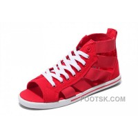 Red CONVERSE Open Toe Elastic Band Summer All Star Roman Sandals Online