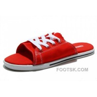 For Sale All Red All Star CONVERSE Cutaway EVO Chuck Taylor Slippers