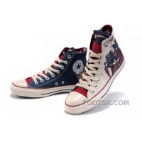 CONVERSE All Star Superman Printed Blue Beige Canvas Shoes Xmas Deals