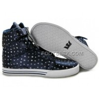 Discount Supra TK Society Blue White Point Men's Shoes