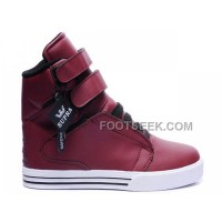 Discount Supra TK Society Brick Red Men's Shoes
