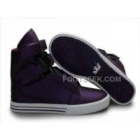 Discount Supra TK Society Purple Red Men's Shoes