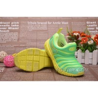 Nike Dynamo Free Kids Green 343738--306 New Release