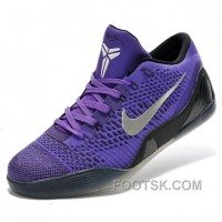 Nike Kobe Bryant 9 Premium Purple Mens Low Basketball Shoes Super Deals