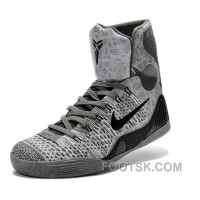 Nike Kobe 9 Elite Detail Grey Basketball Shoes Best