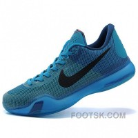 Nike Kobe Bryant X Blue Basketball Shoes Best