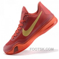 Nike Kobe Bryant X Red Basketball Shoes Cheap To Buy
