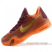 Nike Kobe Bryant X Orange Basketball Shoes Lastest