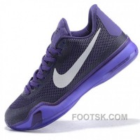 Nike Kobe Bryant X Black Purple Basketball Shoes Cheap To Buy