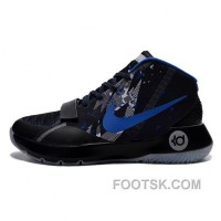 2015 Kevin Durant 8 Simple Black Blue Shoes Top Deals