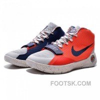 2015 Nike KD 8 Simple Limited Orange Navy Basketball Shoes Top Deals