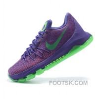 Nike Kevin Durant KD VIII Purple Green Basketball Shoes Online