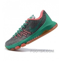 Nike Kevin Durant KD VIII Gray Green Basketball Shoes Super Deals