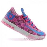 Nike Kevin Durant KD VI AUNT PEARL Pink Basketball Shoes Top Deals