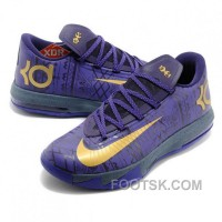 Nike Kevin Durant KD VI BHM Purple Basketball Shoes Online