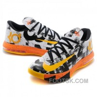 Nike Kevin Durant KD VI MVP Yellow Basketball Shoes Discount
