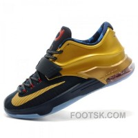 Nike Kevin Durant KD7 N7 Mens Gold Basketball Shoes New Style
