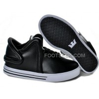 For Sale Supra Falcon Black White Men's Shoes