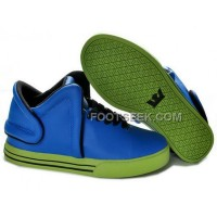 For Sale Supra Falcon Blue Green Men's Shoes
