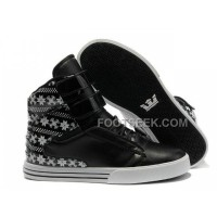 For Sale Supra TK Society Black Snowflake Women's Shoes