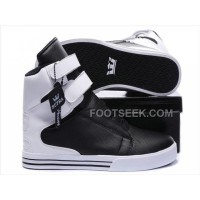 For Sale Supra TK Society Black White Women's Shoes