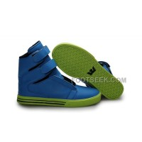 For Sale Supra TK Society Blue Green Women's Shoes