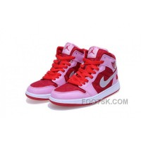 GS Air Jordan 1 Mid Prem Valentine Color For Sale Aj5fmr