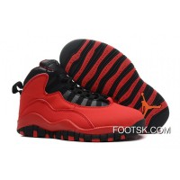 "Air Jordans 10 Retro ""Fusion Red"" New Release"