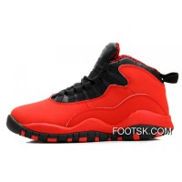 Air Jordan 10 Fusion Red/Black-Laser Orange Online EjbYye6